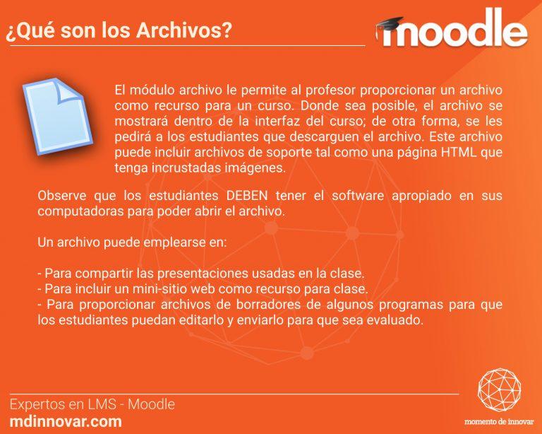 Archivos Moodle
