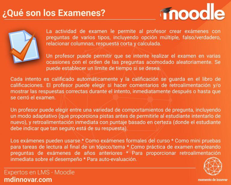 Examenes Moodle