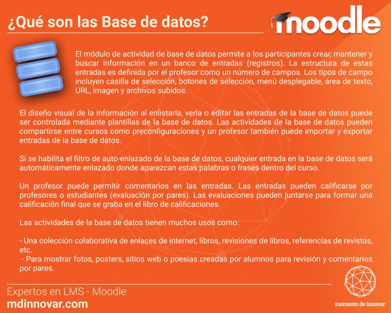 Base de datos Moodle