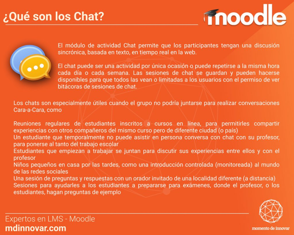 Chat Moodle