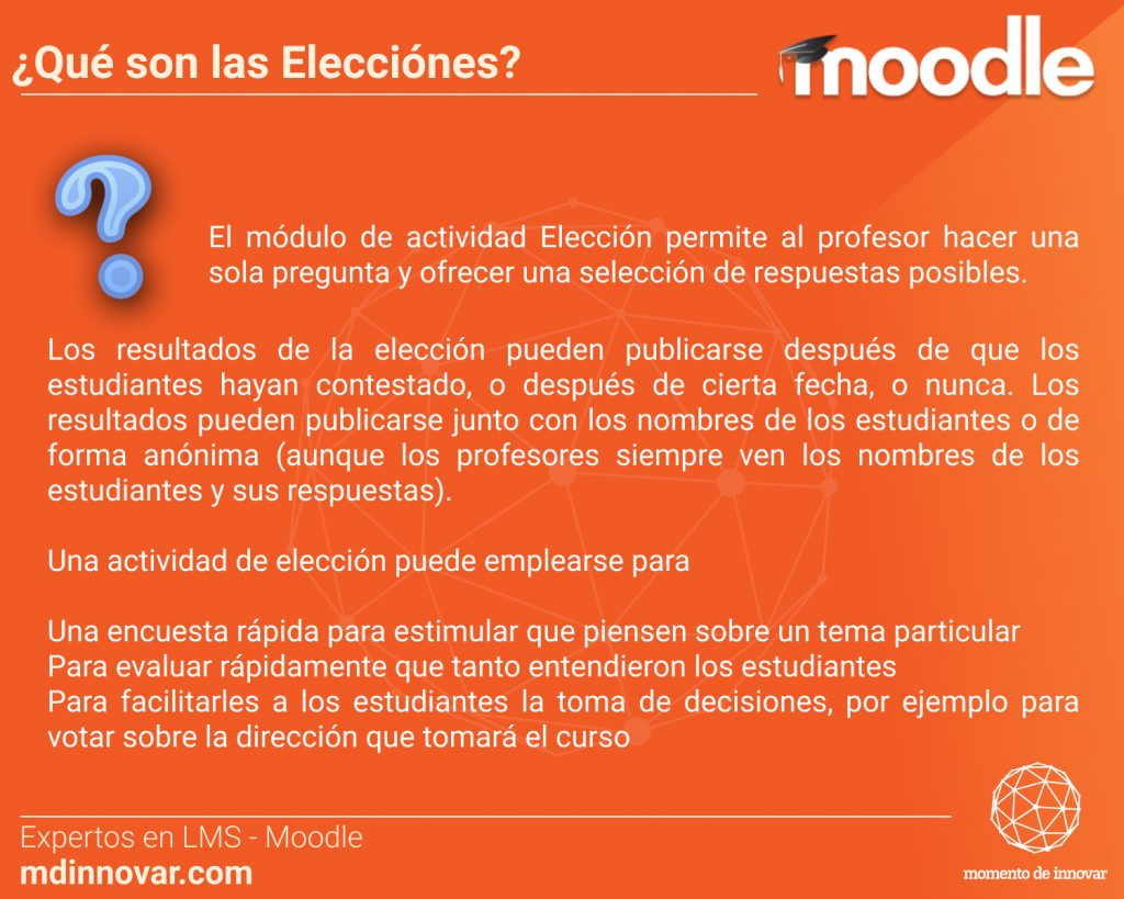 Elecciones Moodle