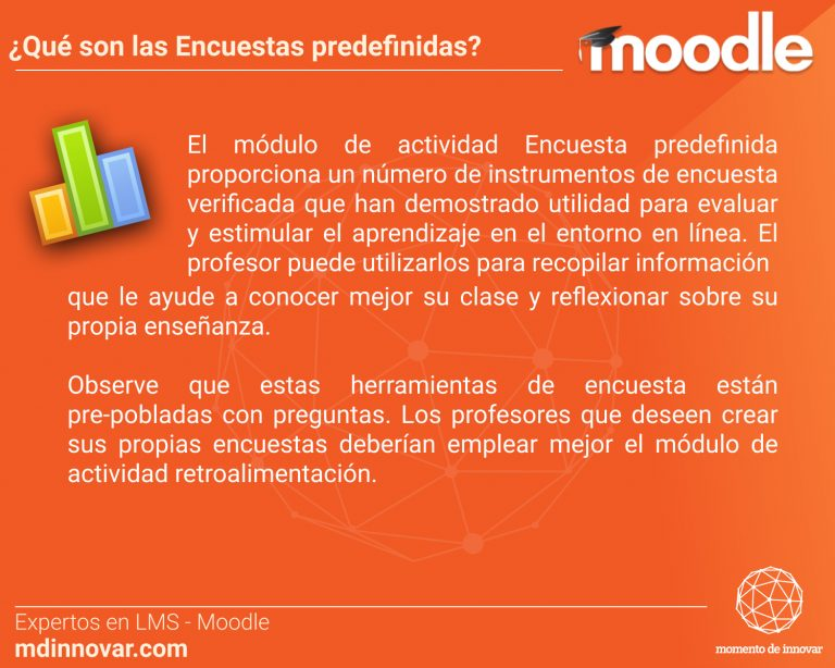 Encuestas Predefinidas Moodle
