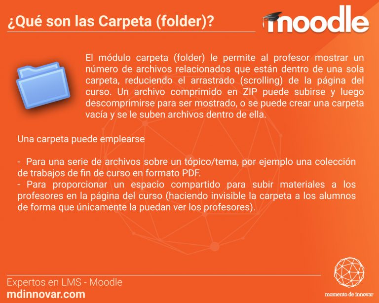 Folder Carpeta Moodle