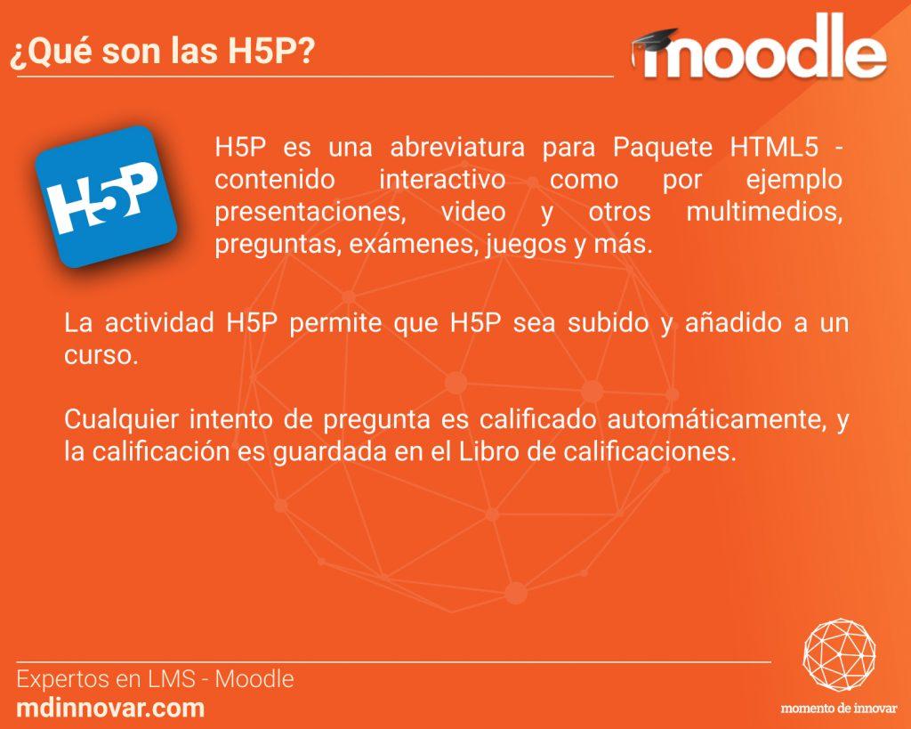 H5P Moodle