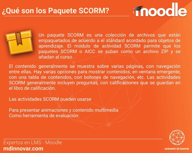 SCORM Moodle