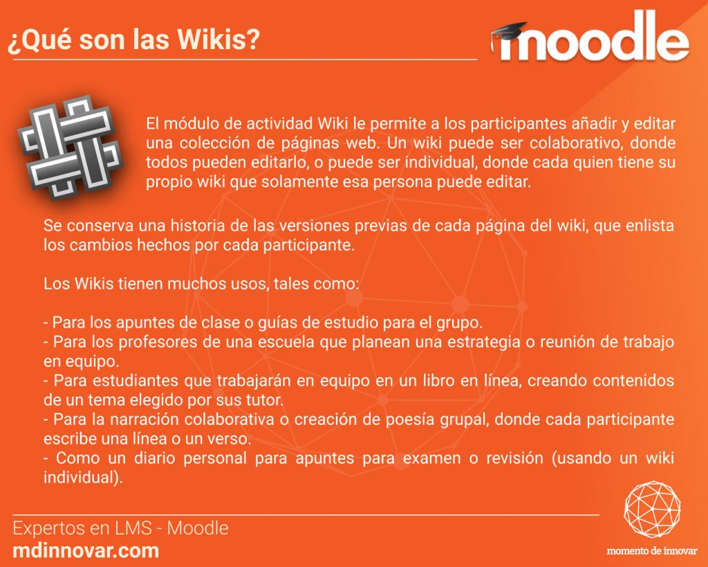 Wikis Moodle