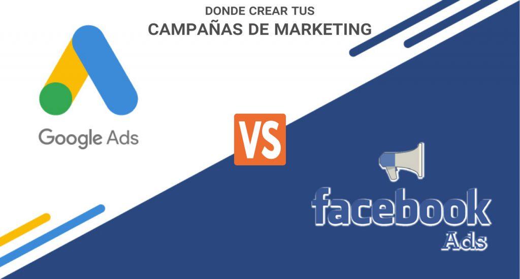 Ads Google Facebook